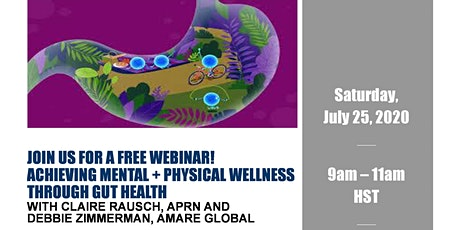 Achieving Mental + Physical Wellness Through Gut Health tickets