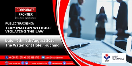 Public Training: Termination Without Violating The Law tickets