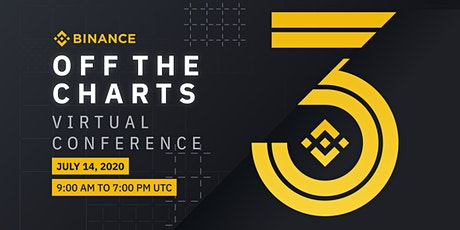 """Binance """"Off the Charts!"""" Virtual Conference tickets"""