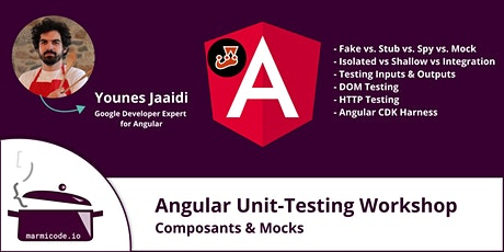 Angular Unit-Testing Workshop - Composants & Mocks [Français] billets
