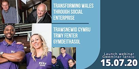 Transforming Wales Through Social Enterprise Vision and Action Plan webinar tickets