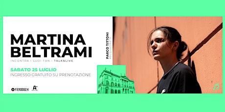 Martina Beltrami @ Parco Tittoni, Desio (MB) - INGRESSO GRATUITO biglietti