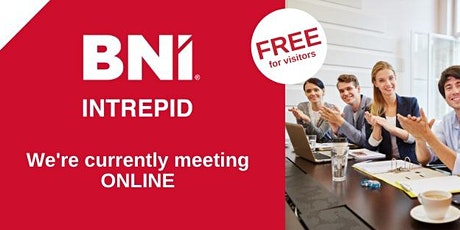 BNI Intrepid Cardiff online networking meeting - meeting virtually via Zoom tickets