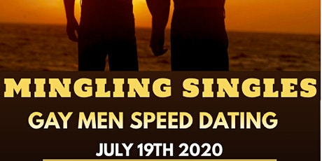 Mingling Singles - Gay Men Speed Dating Event tickets
