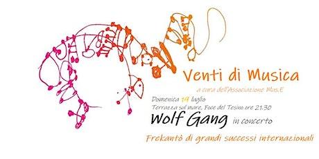 Venti di Musica - Wolf Gang in concerto  - Grottammare biglietti