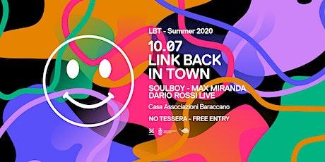 Link Back In Town #19 // I Giardini del Baraccano Festival 20 biglietti