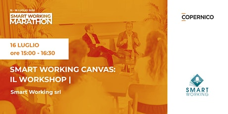Smart working Canvas: il Workshop | Smart Working Marathon biglietti