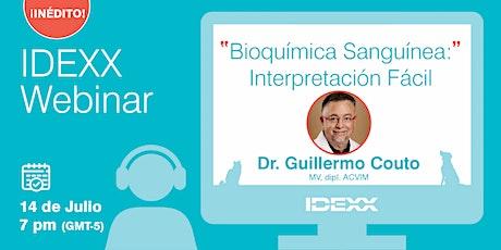 Bioquimica Sanguinea: Interpretación Fácil - Dr. Guillermo Couto entradas
