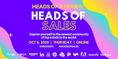 Heads Of X Series: Heads of Sales Conference tickets