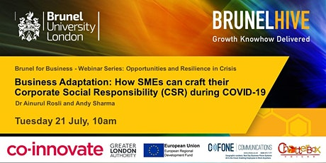 Business Adaptation: How SMEs can craft Corporate Social Responsibility tickets