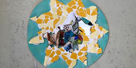 Mozaïek-plafond als Gaudí tickets