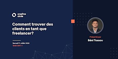 CC - Talk#6 : Comment trouver des clients en tant que Designer Freelance? billets