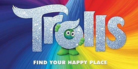 KidsOut and CHUMS Open Air Cinema - Trolls (PG) - 26th July 2pm tickets