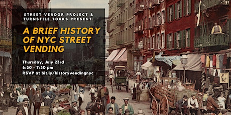 A Brief History of New York City Street Vending tickets