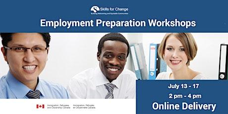 Employment Preparation Workshop (Online) tickets