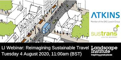 LI Webinar: Reimagining sustainable travel with Atkins & Sustrans