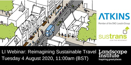 LI Webinar: Reimagining sustainable travel with Atkins & Sustrans tickets
