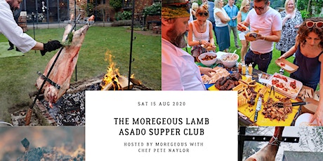 A Manc Asado : Full British Lamb Cooked Over Fire, BBQ, Chocolate Table tickets