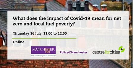 What does the impact of Covid-19 mean for net zero and local fuel poverty? tickets