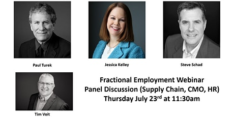 Fractional Employment Panel (HR, CMO, Supply Chain) tickets