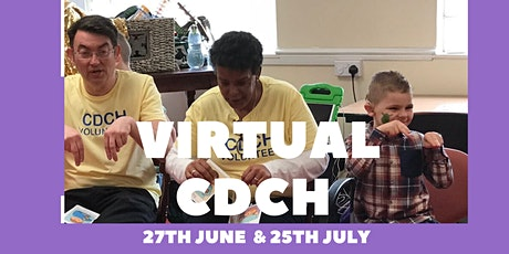 Virtual Cardiff Deaf Creative Hands - July 25th 2020 tickets