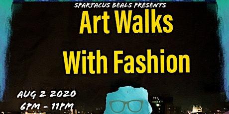 Art Walks With Fashion tickets