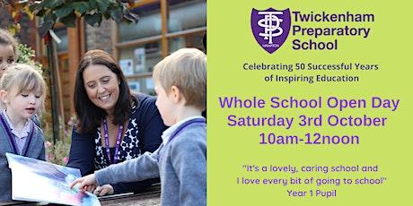 Whole School Open Day tickets