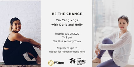 Be The Change Charity Yoga with Doris and Holly: Yin Yang Yoga tickets