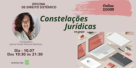 OFICINA DE DIREITO SISTÊMICO Online ingressos