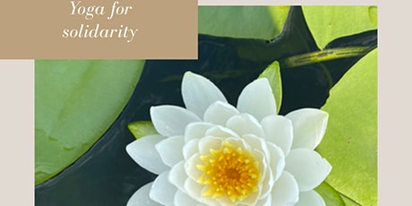 Yoga for Solidarity tickets