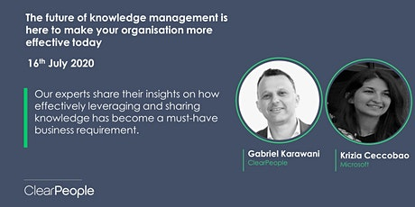 The Future of Knowledge Management tickets