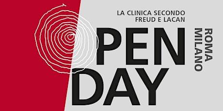 Open day Istituto freudiano - settembre 2020 biglietti