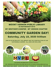 MVPL - Community Garden Day tickets