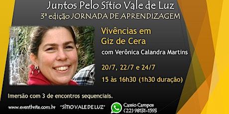 Vivencias em Giz de Cera com Veronica Calandra ingressos