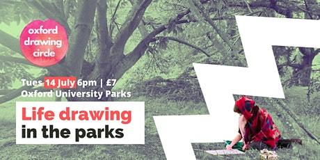 Life drawing in the parks Tues 14 July (rescheduled) tickets
