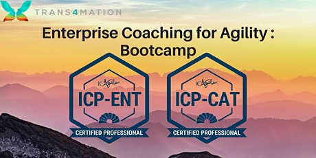 Enterprise Coaching for Agility Bootcamp tickets