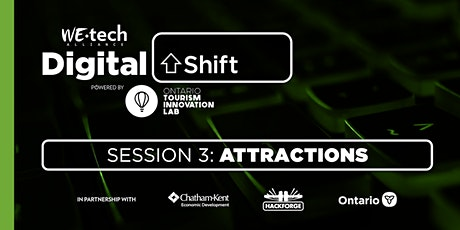 Digital Shift Session 3: Attractions tickets