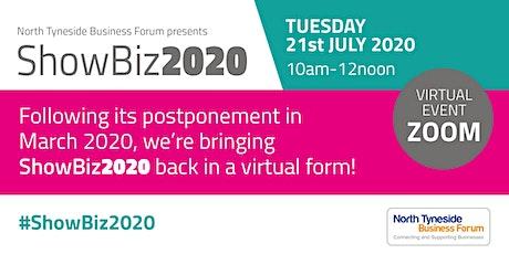 ShowBiz2020: Online tickets