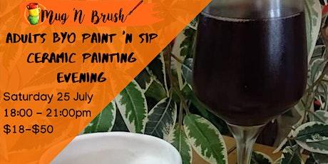 Ceramic Painting evening tickets