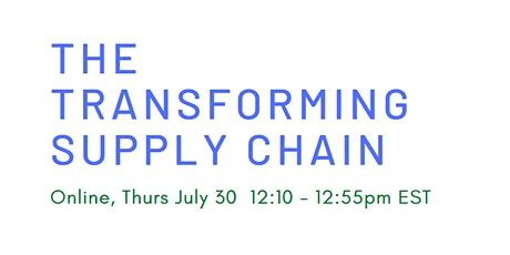 The Transforming Supply Chain tickets