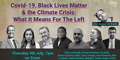 Covid-19, BLM & climate crisis: what it means for the Left tickets