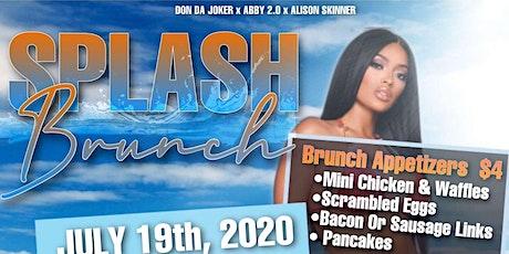 Splash Brunch tickets