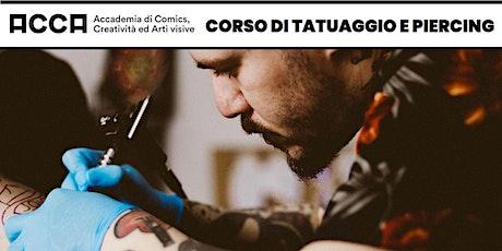 Open Day - Corso di Tatuaggio e Piercing a Jesi biglietti