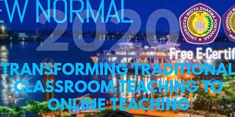 Transforming Traditional Classroom Teaching to Online Teaching tickets