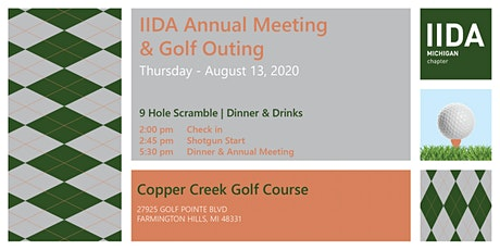 Michigan IIDA Annual Meeting & Golf Outing tickets