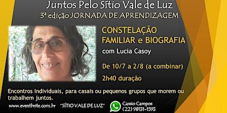 Constelação Biografica Familiar online ingressos