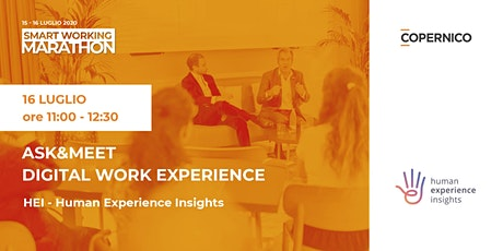 Ask&Meet Digital Work Experience | Smart Working Marathon biglietti