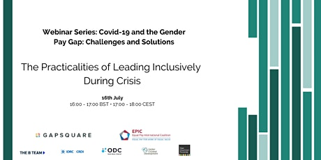 The Practicalities of Leading Inclusively During Crisis (An EPIC webinar) tickets