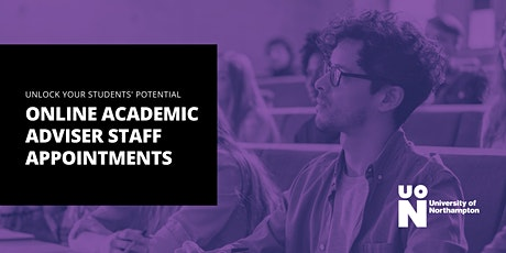 Online Academic Adviser Staff Appointments tickets