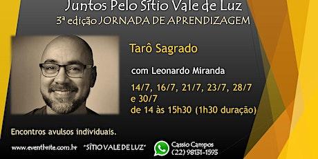 Tarô Sagrado com Leonardo Miranda ingressos